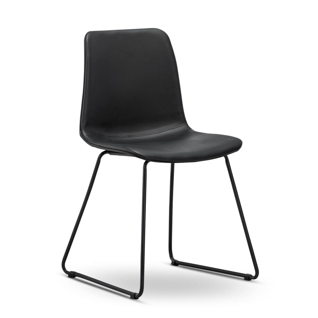 Breeze Dining Chairs Eddy Chair, Black