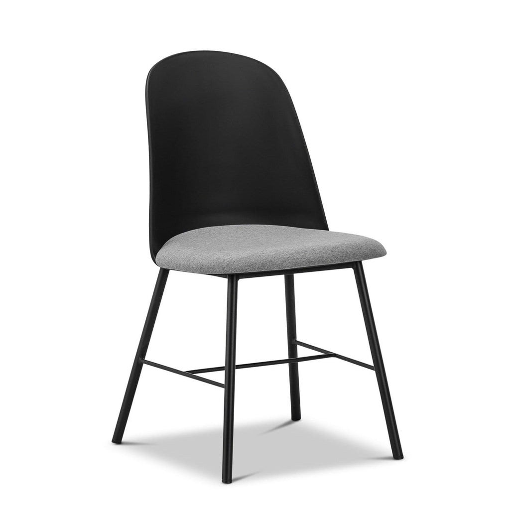 Breeze Dining Chairs Jensen Chair, Black