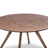 Breeze Dining Tables Flore Dining Table, Walnut