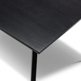 Breeze Dining Tables Karey 1.8m Dining Table, Black
