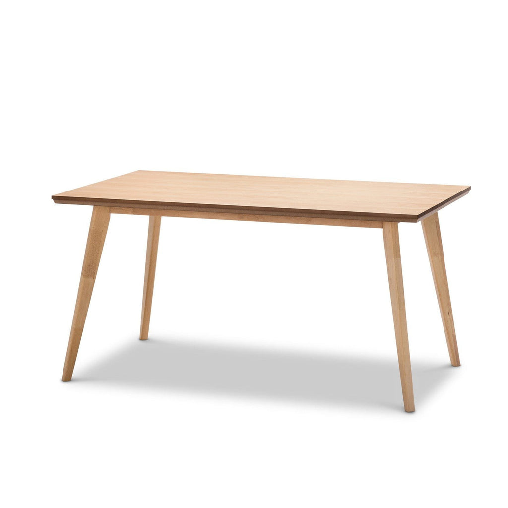 Breeze Dining Tables Karey Dining Table, Natural
