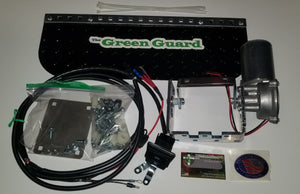 The Green Guard 'SLIM [HD]' - Complete Installation Kit w/Black Aluminum Guard