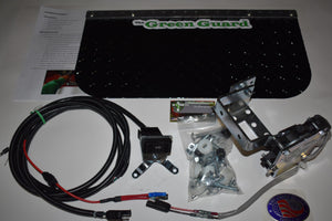 'The Green Guard' - Complete Installation Kit w/Black Aluminum Guard