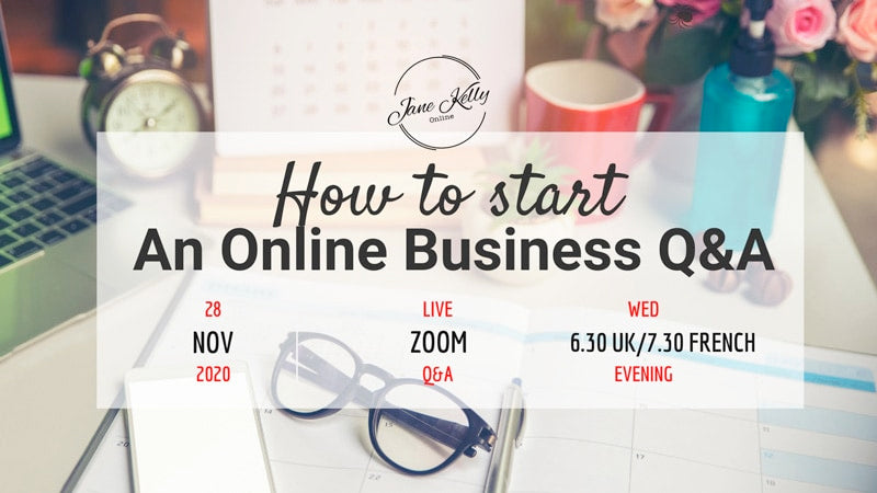 Interested in starting an online business but don't know where to start?