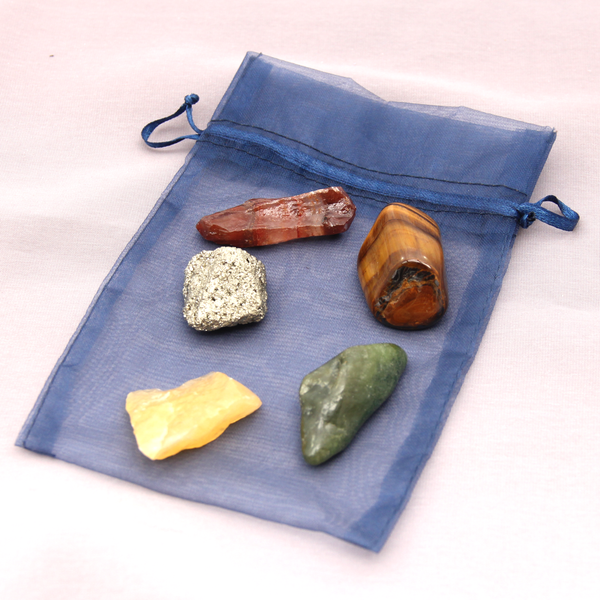 Crystal Kit For Attracting Abundance, Positivity & Confidence