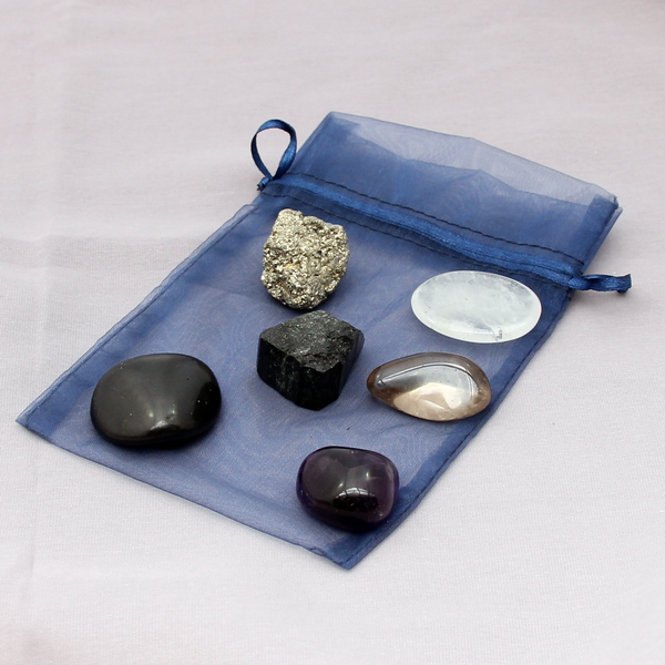 Crystal Space Clearing & Personal Protection Kit