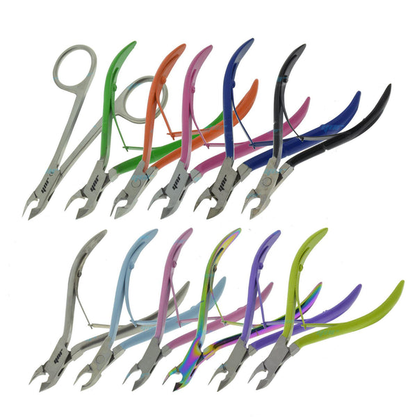 YNR Cuticle Nippers Remover Nail Clippers Cutters Manicure Skin Care Tool New - Olympia Beauty Online Store