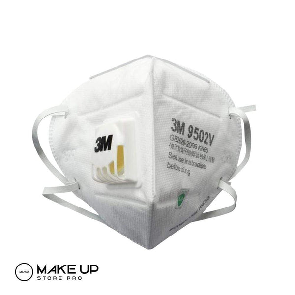 3M Reusable Face Mask Kn95 9502 v With Valve