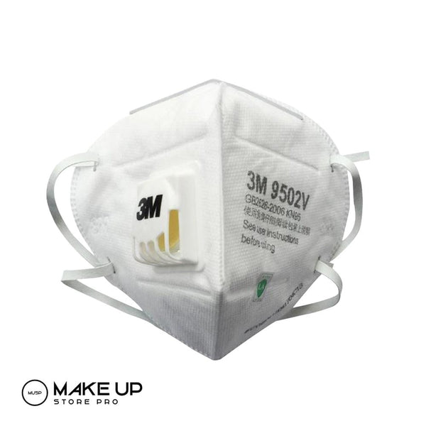 3M Reusable Face Mask N95 9502V With Valve, Washable - Reusable