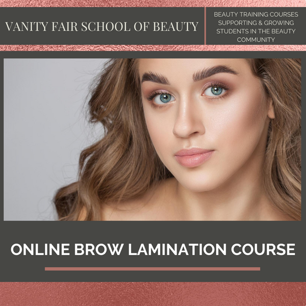 Brow Lamination Training Course - Online eCourse