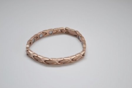 Rose Gold Ladies Magnetic titamium Bracelet - Olympia Beauty Online Store