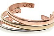 Copper Magnetic Therapy Bangle- SB12 - Olympia Beauty Online Store