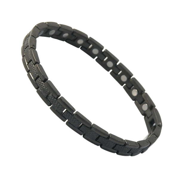 SBP1713 Ladies Stainless Steel Black Magnetic Bracelet - Olympia Beauty Online Store