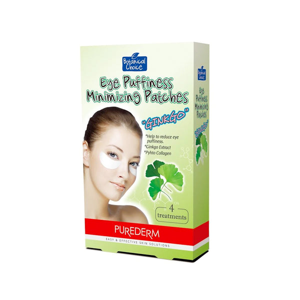 Purederm - Eye Puffiness Minimizing Patches (Ginkgo Extract) - Olympia Beauty Online Store