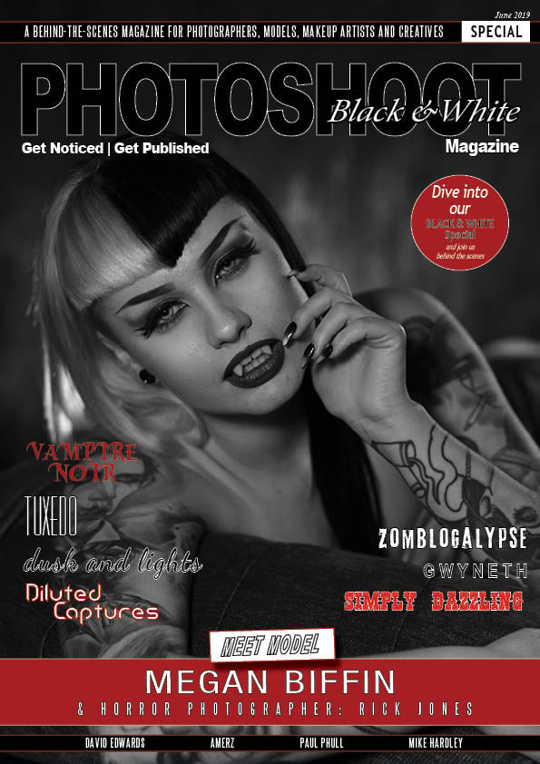 Black And White Special - PRINTED Edition + Free Digital Download - Olympia Beauty Online Store