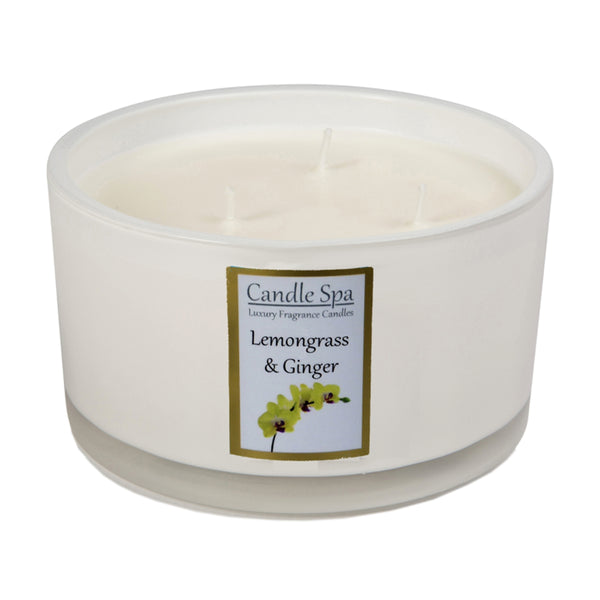 3-Wick Candle - Lemongrass & Ginger - Olympia Beauty Online Store