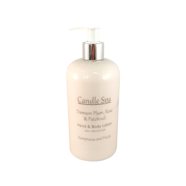 Damson Plum, Rose & Patchouli Hand & Body Lotion 500 Ml - Olympia Beauty Online Store