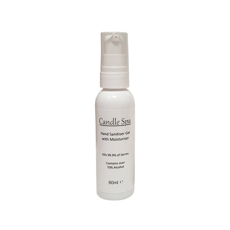 Hand Sanitiser Gel with Moisturiser 60ml - Olympia Beauty Online Store