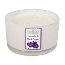 3-Wick Candle - Lavender & Black Pepper - Olympia Beauty Online Store
