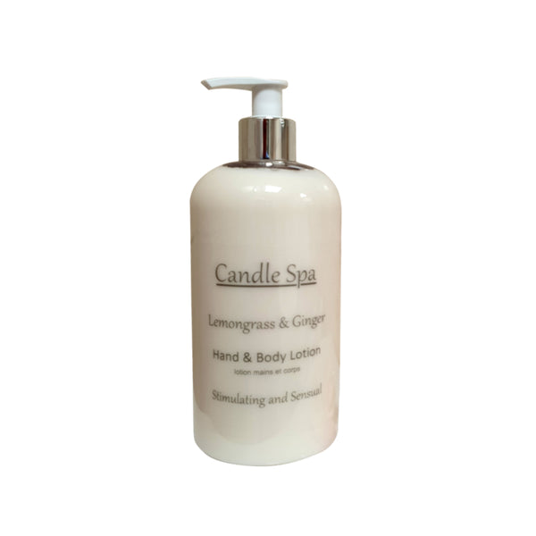 Lemongrass & Ginger Hand & Body Lotion 500 Ml - Olympia Beauty Online Store