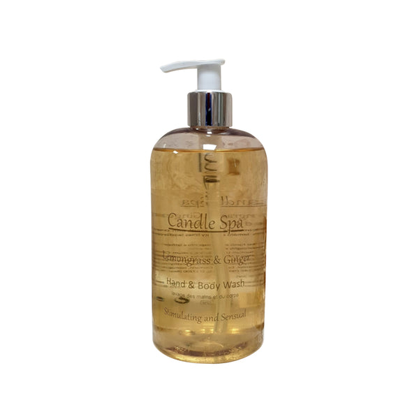 Lemongrass & Ginger Hand & Body Wash 500 Ml - Olympia Beauty Online Store