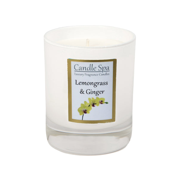 Lemongrass & Ginger Luxury Candle in 20 Cl Tumbler - Olympia Beauty Online Store