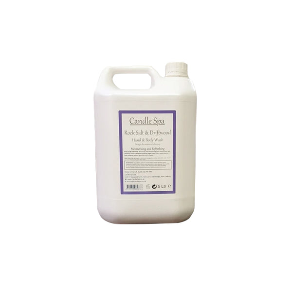 ROCK SALT & DRIFTWOOD HAND & BODY WASH 5L - Olympia Beauty Online Store