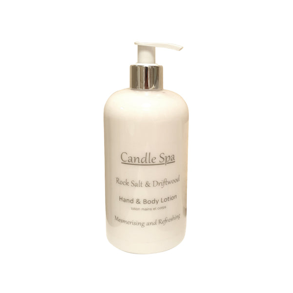 Rock Salt & Driftwood Hand & Body Lotion 500 Ml - Olympia Beauty Online Store
