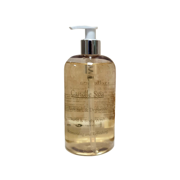 Rock Salt & Driftwood Hand & Body Wash 500 Ml - Olympia Beauty Online Store