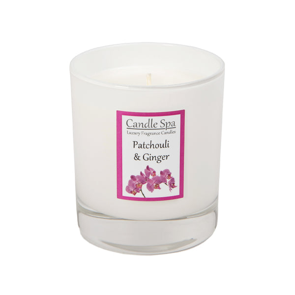 Patchouli & Ginger Luxury Candle in 30 Cl Tumbler - Olympia Beauty Online Store