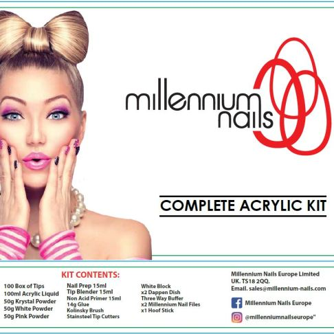 Complete Acrylic Kit - Olympia Beauty Online Store