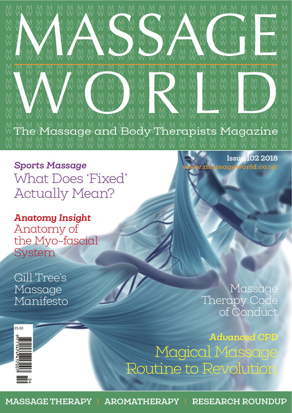 Massage World - Single Printed Issue 102 - Olympia Beauty Online Store