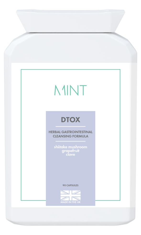 DTOX - herbal gastrointestinal cleansing formula - 90 capsules - Olympia Beauty Online Store