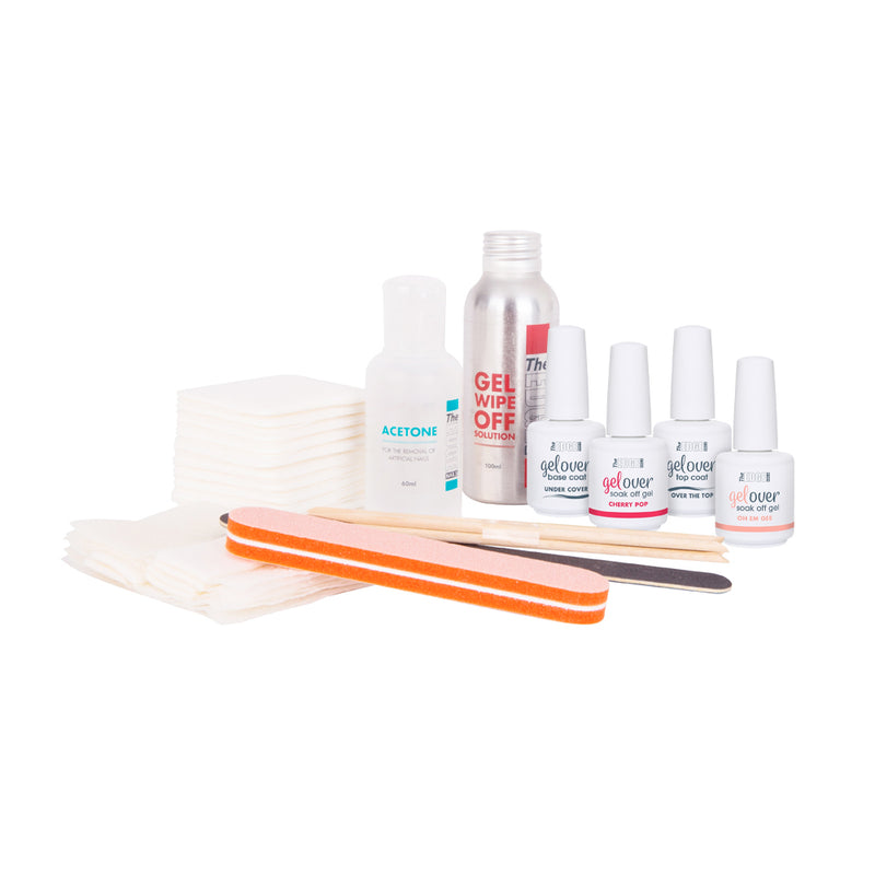 GELOVER SOAK OFF GEL KIT - Olympia Beauty Online Store