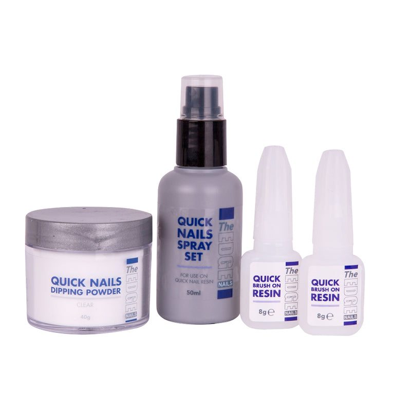 THE EDGE QUICK NAILS TRIAL KIT - Olympia Beauty Online Store