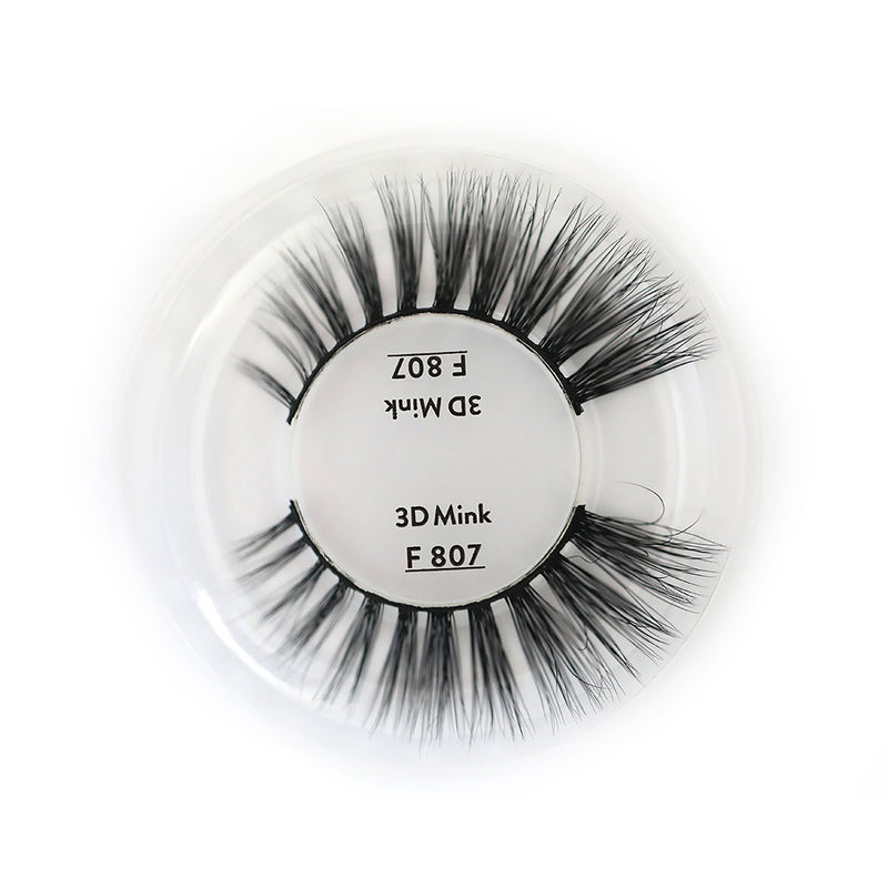 F807 3D | MINK LASHES - Olympia Beauty Online Store