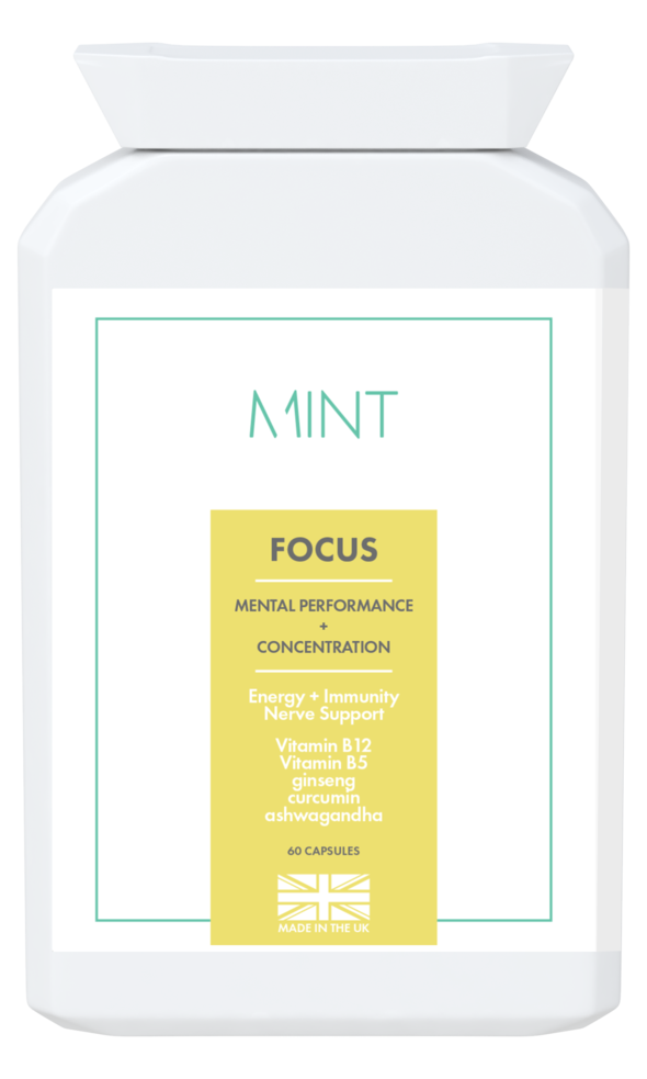 FOCUS - Mental Performance + Concentration - 60 capsules - Olympia Beauty Online Store