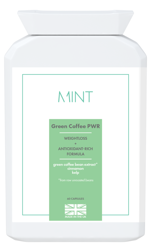Green Coffee PWR - Weightloss + Antioxidant-rich Formula - 60 capsules - Olympia Beauty Online Store