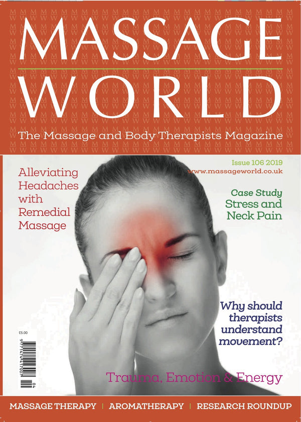Massage World - Single Printed Issue 106 - Olympia Beauty Online Store