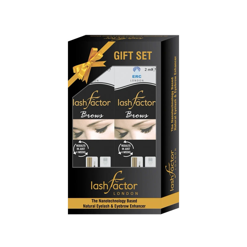 Gift Set (2 X Lashfactor Lash + Brows) - 2 Months Supply - Olympia Beauty Online Store