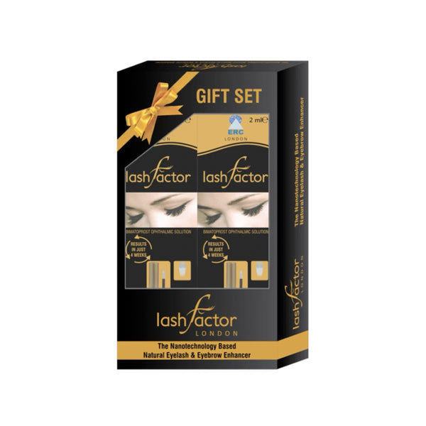 Gift Set (2 X Lashfactor) - 2 Months Supply - Olympia Beauty Online Store