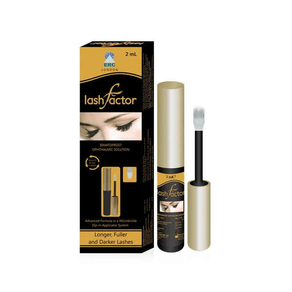 Lashfactor Eyelash Rapid Growth Solution (1 Month Supply) - Olympia Beauty Online Store