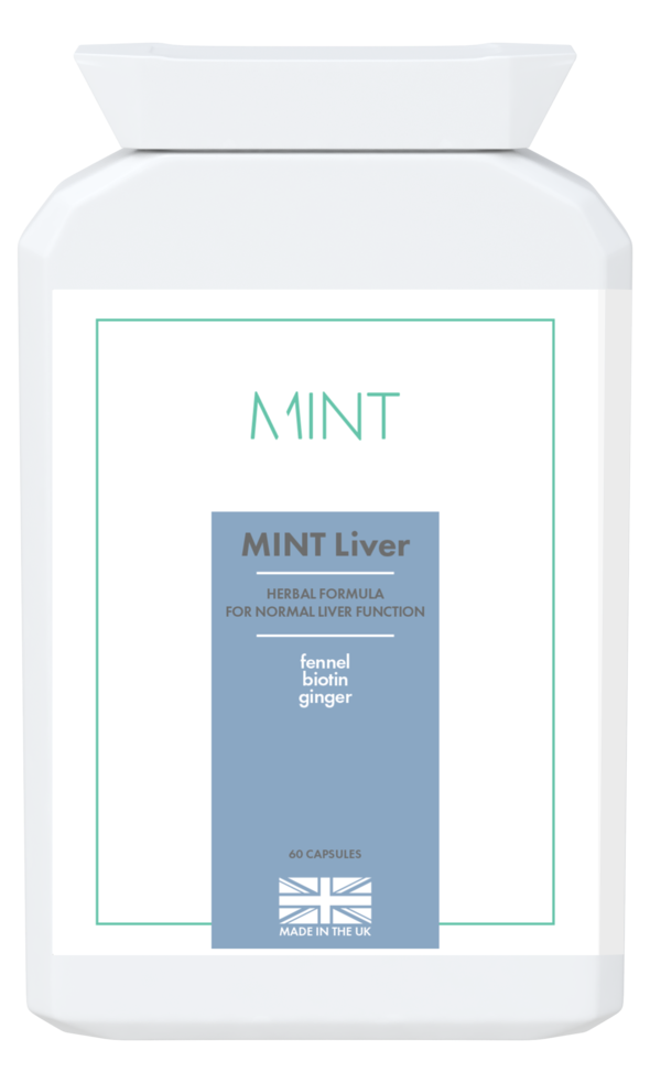 MINT Liver - herbal formula - 60 capsules - Olympia Beauty Online Store