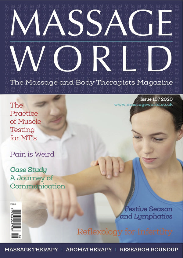 Massage World - Single Printed Issue 107 - Olympia Beauty Online Store