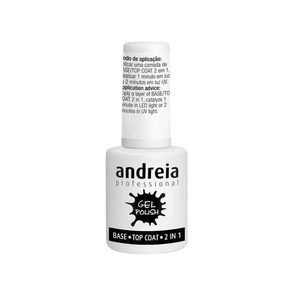 Andreia Professional Gel Polish Base and Top Coat 2 in 1 – 10 ml - Olympia Beauty Online Store