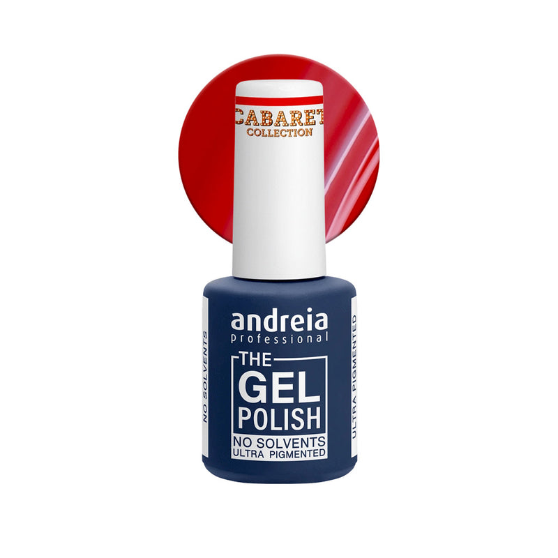 Andreia Professional – The Gel Polish – Solvent Free Gel – CC1 Red - Olympia Beauty Online Store