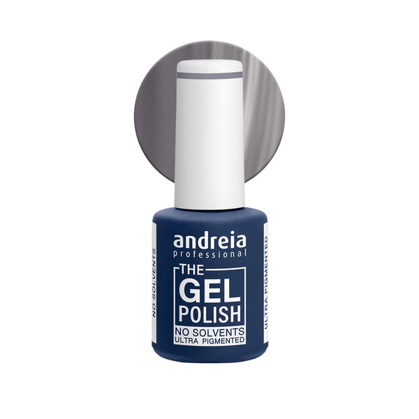 Andreia Professional – The Gel Polish – Solvent Free Gel – G40 Grey - Olympia Beauty Online Store