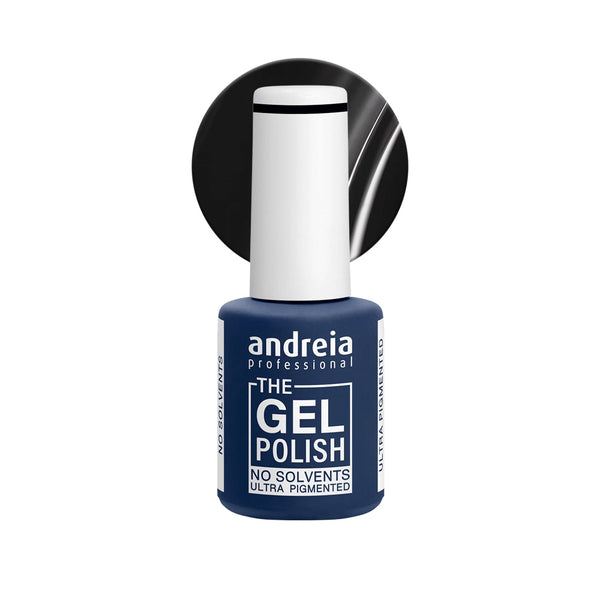 Andreia Professional – The Gel Polish – Solvent Free Gel – G42 Black - Olympia Beauty Online Store