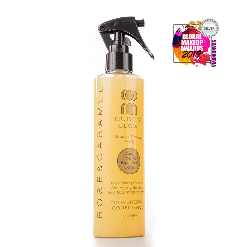 Nudity Glow Gradual Tanning Water - Olympia Beauty Online Store