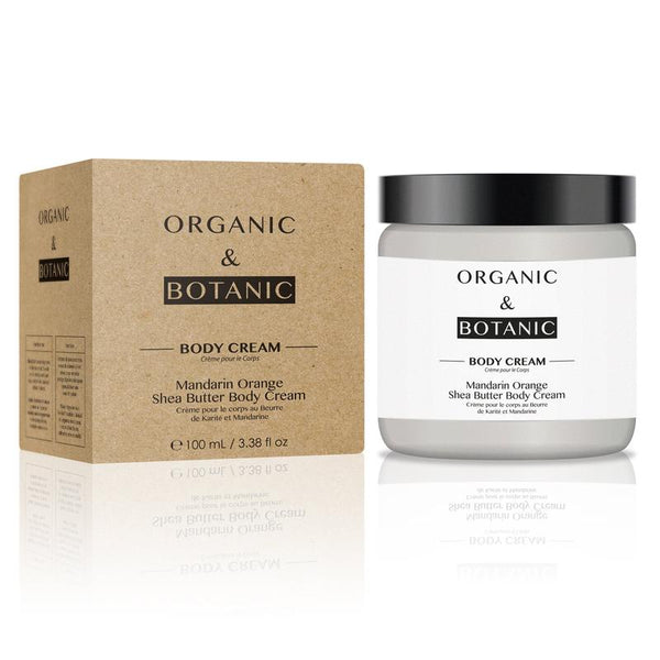 MANDARIN ORANGE SHEA BUTTER BODY CREAM - Olympia Beauty Online Store